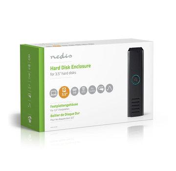 """Nedis Nedis 3.5"""" SATA harde schijf-behuizing USB 3.0"""