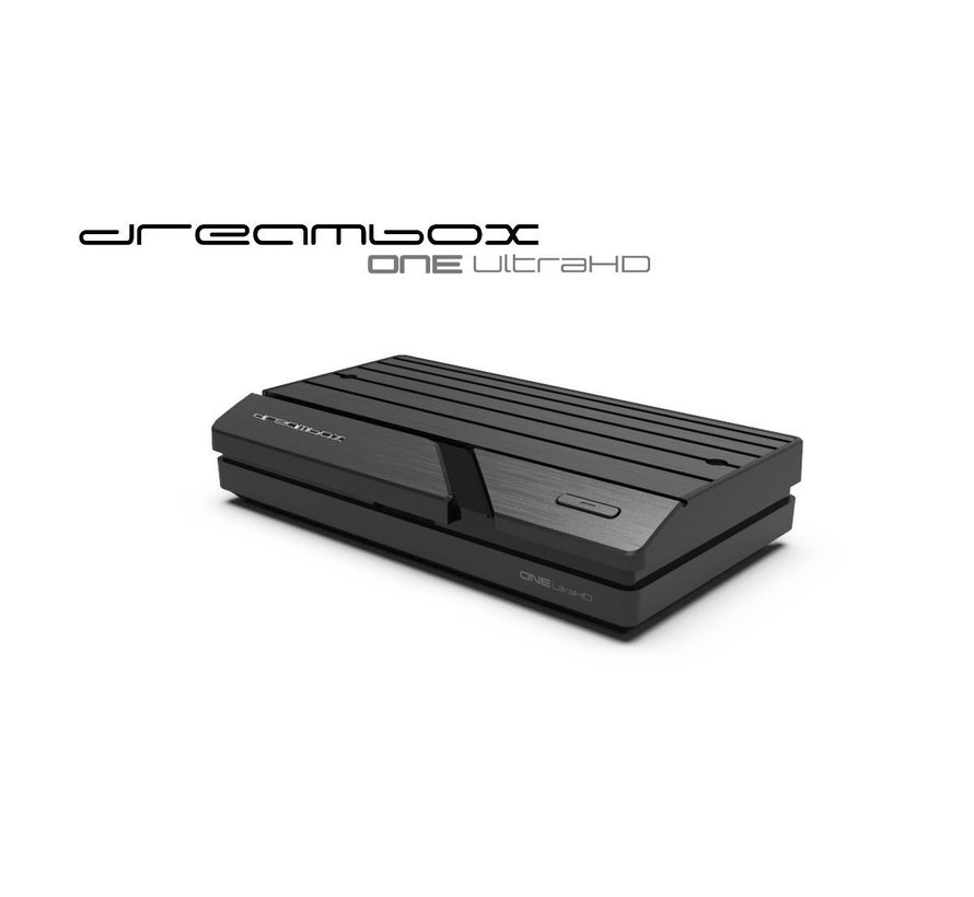 Dreambox One Ultra HD 2x DVB-S2X MIS Tuner 4K 2160p E2 Linux Dual Wifi H.265 HEVC