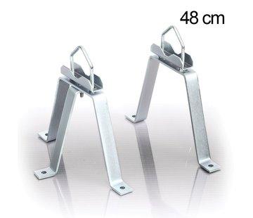 Muurbeugel M-beugel set 48cm