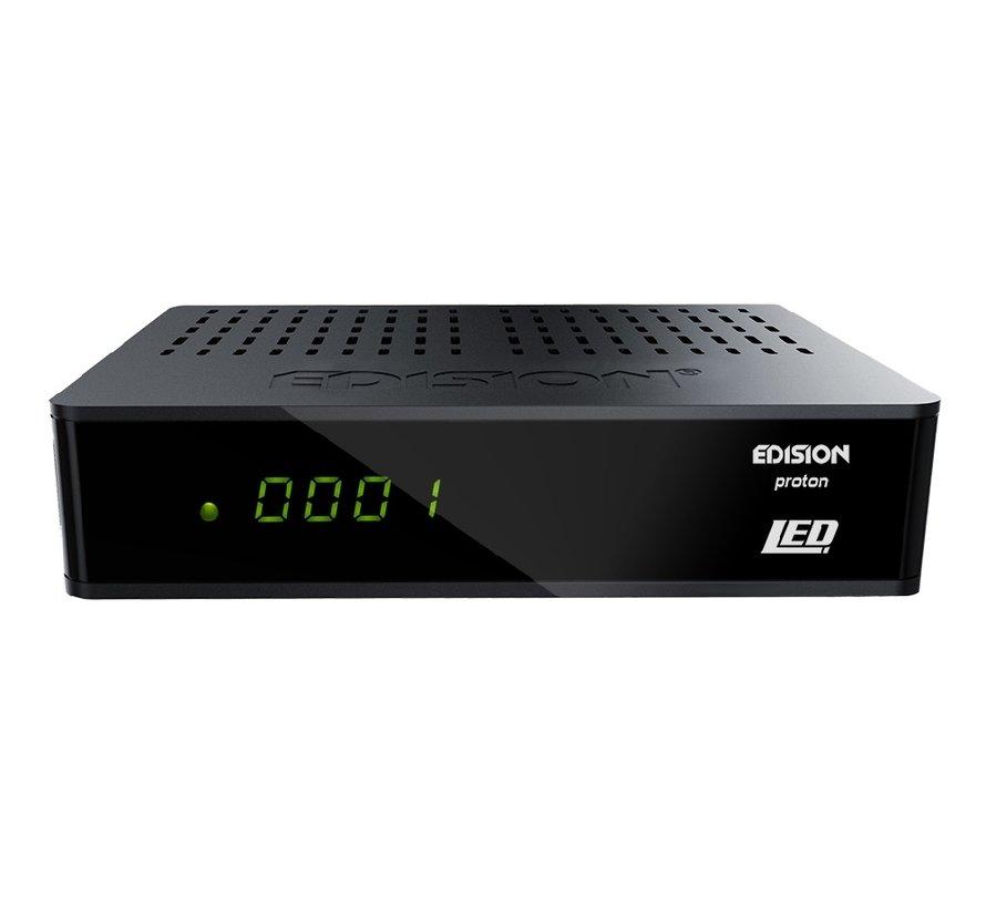 Edision Proton LED - DVB-S2 FTA