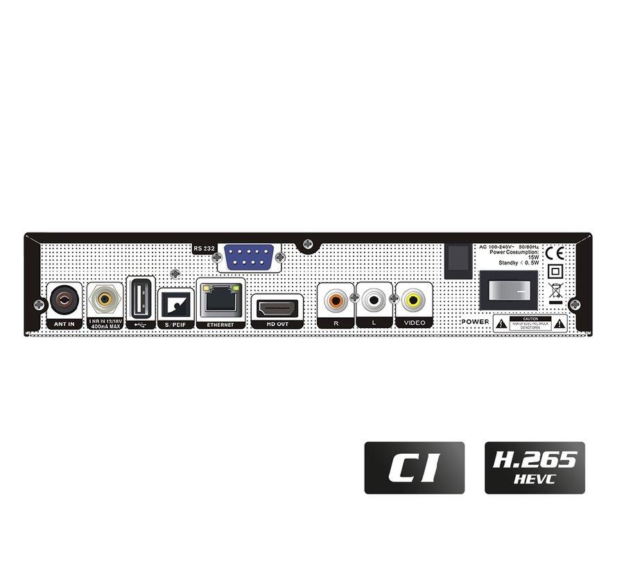 Edision Piccollo S2+T2/C met CI slot
