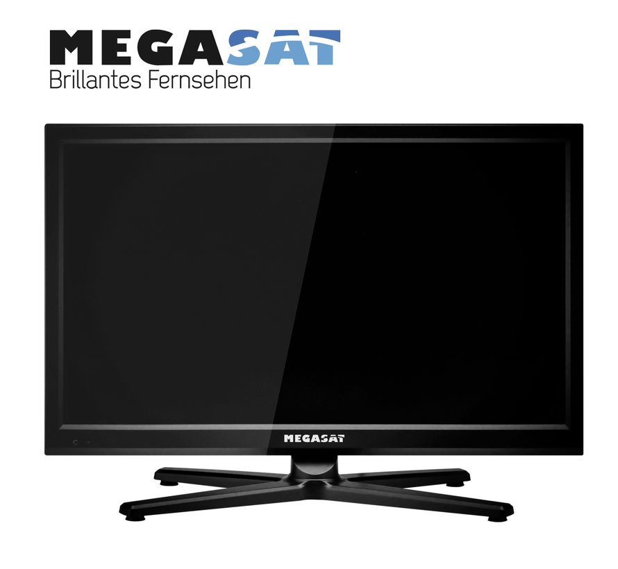 Megasat Camping TV Royal Line II 19 - DeLuxe 12V & 24V - Benelux Editie - M7 Fastscan