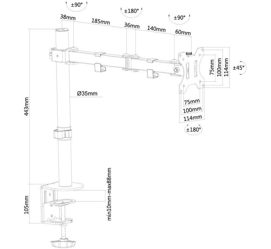 NewStar schermbeugel FPMA-D550BLACK