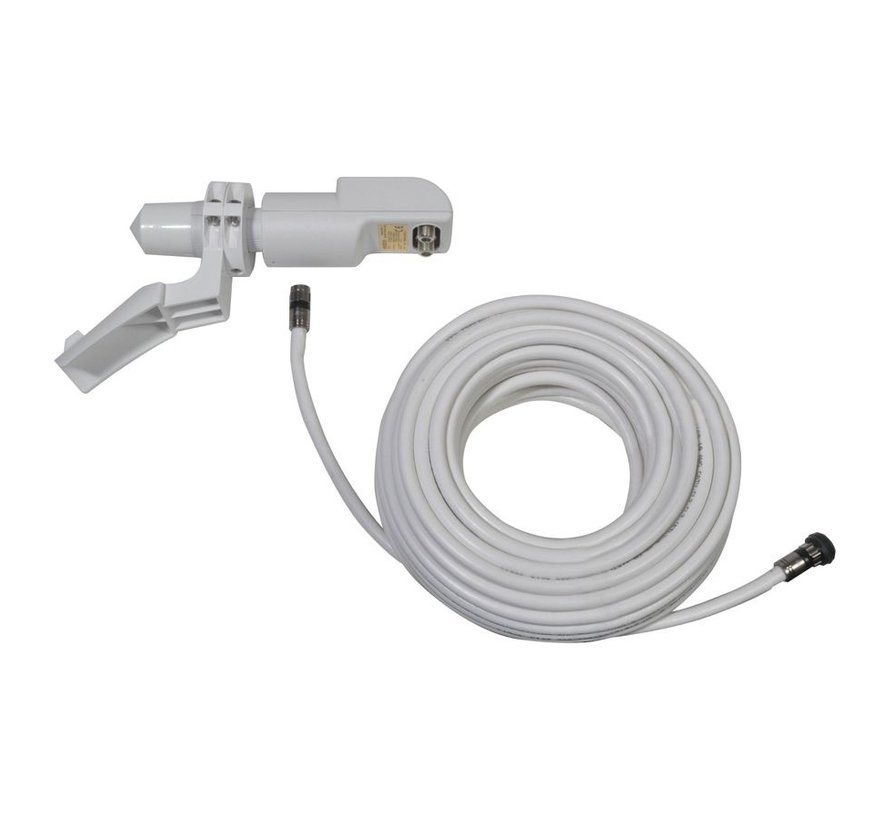 Travel Vision R6/7 65cm single TWIN LNB + houder en kabel