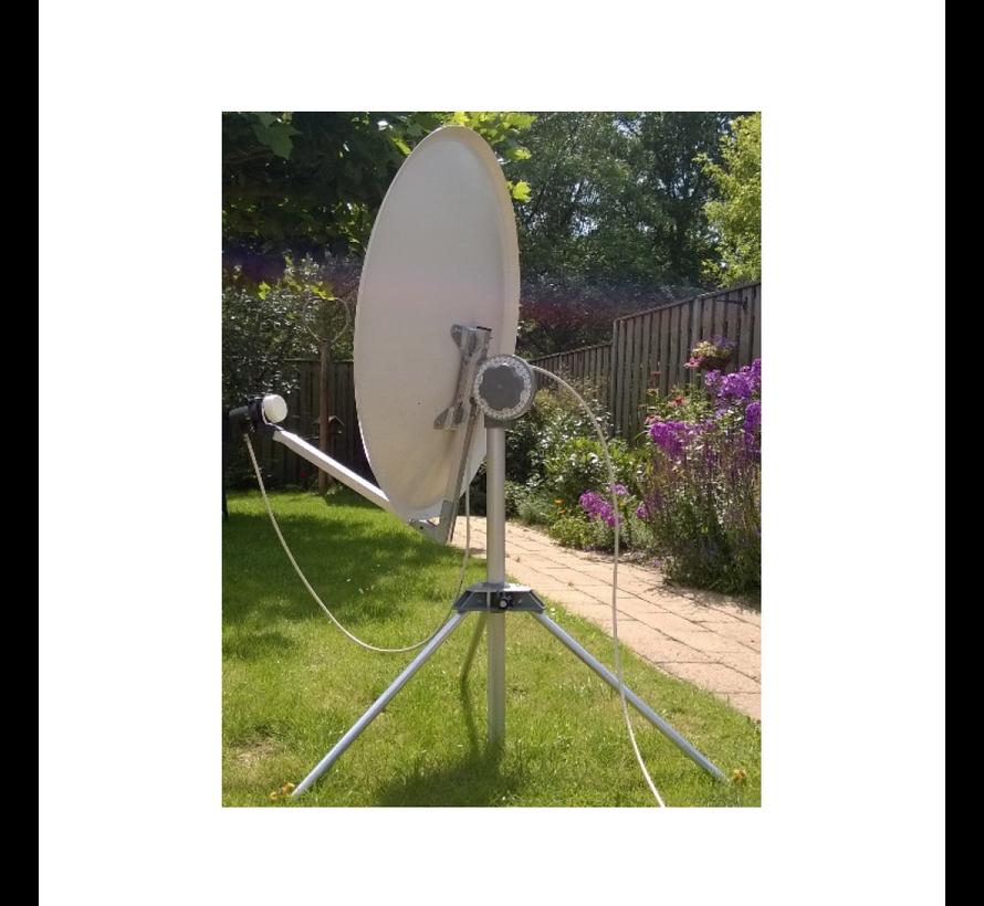 EISS 2.0 65 cm model 2019 (WIT) schotelantenne Ultra Black LNB