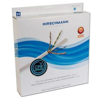 Hirschmann Hirschmann INKA CAT 6 Dca / 20 meter UTP wit
