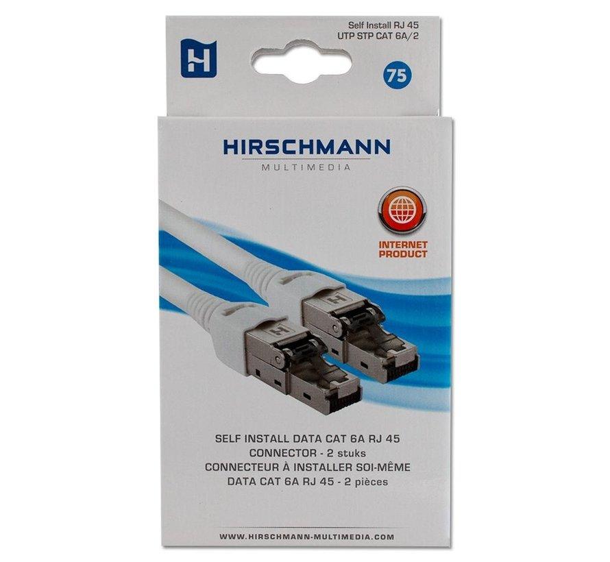 Hirschmann Self Install RJ45 UTP STP CAT 6A/2 - 2 stuks