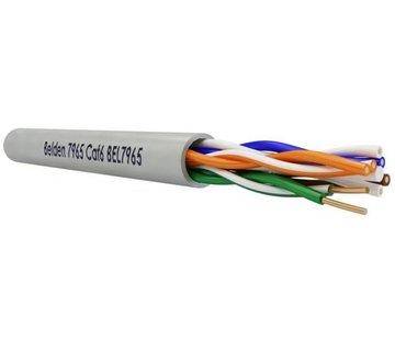 Belden Belden CAT6 UTP Kabel 4X2XAWG23 7965E Grijs Doos 100m