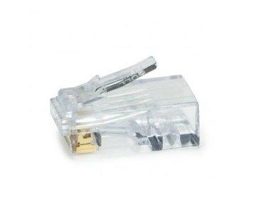 Platinum Tools EZ-EX44 RJ45 CAT6  connector per stuk leverbaar