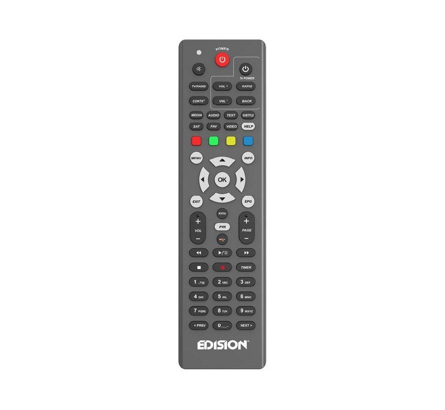 Edision EDI-RCU OS ALU afstandsbediening