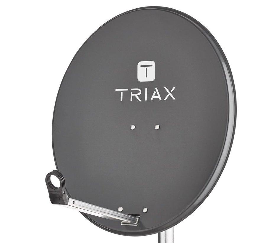Triax TDS 65cm schotel kleur 7016 antraciet