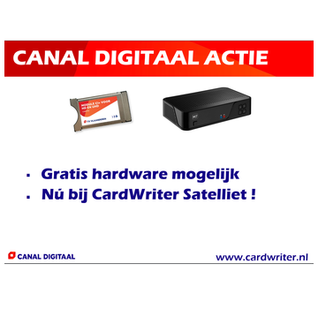 Canal Digitaal nieuw abonnement aktie