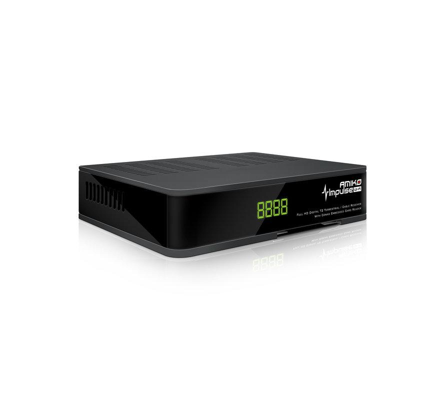 Amiko Impulse - DVB-T2/C Full HD - HEVC H.265