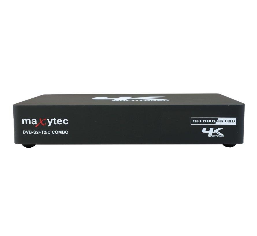 Maxytec Multibox DVB-S2 en DVB-C/T2 Combo Enigma2 & Android