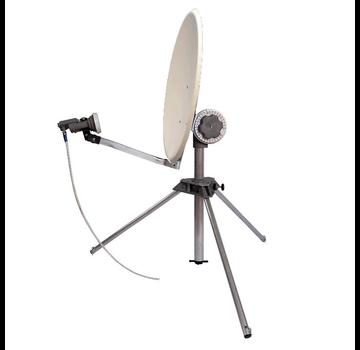 EISS EISS 2.0 - 65 cm schotel (WIT) op statief met Ultra Black LNB