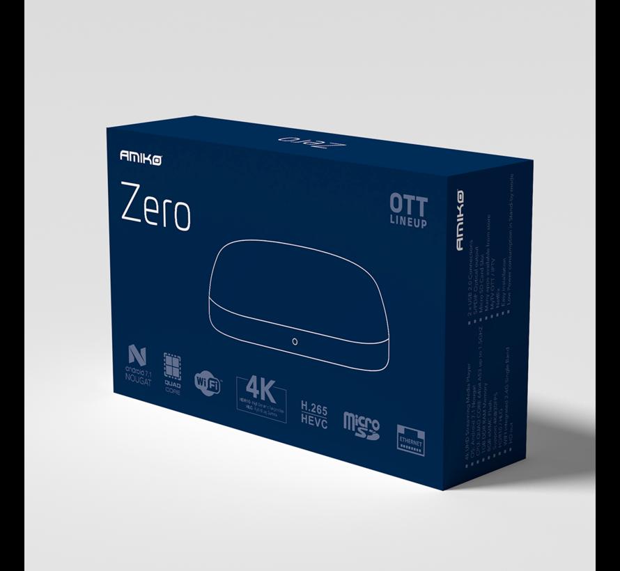 Amiko Zero OTT - 4K UHD - Android 7.1 - H.265 HEVC