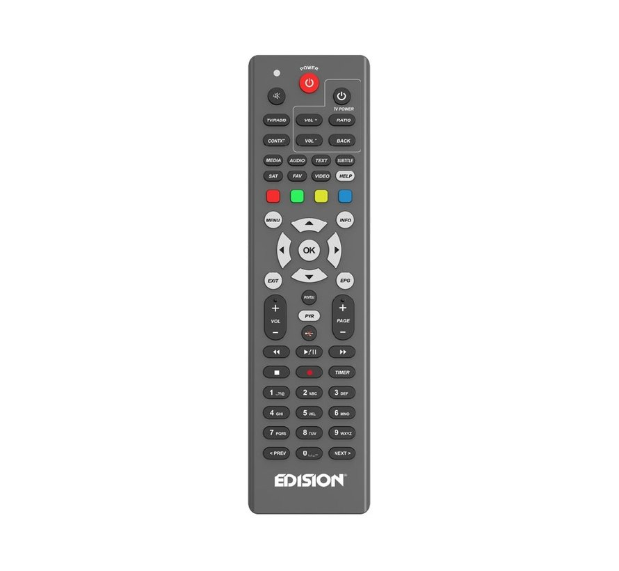 Edision OS MIO+ 4K S2X + S2/T2/C