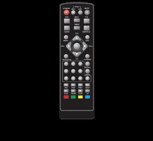 Rebox Rebox extra afstandsbediening voor RE-2400 DVBT2  ontvanger