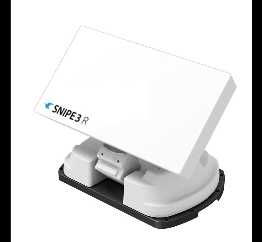 Selfsat Snipe 3R TWIN met afstandsbediening