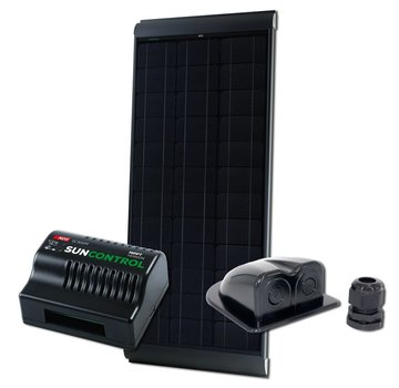 NDS NDS Blacksolar 115W zonnepaneel SET + SC300M KPB115WP