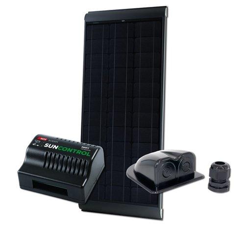 NDS NDS Blacksolar 115W zonnepaneel SET + SC300M KPB115WP
