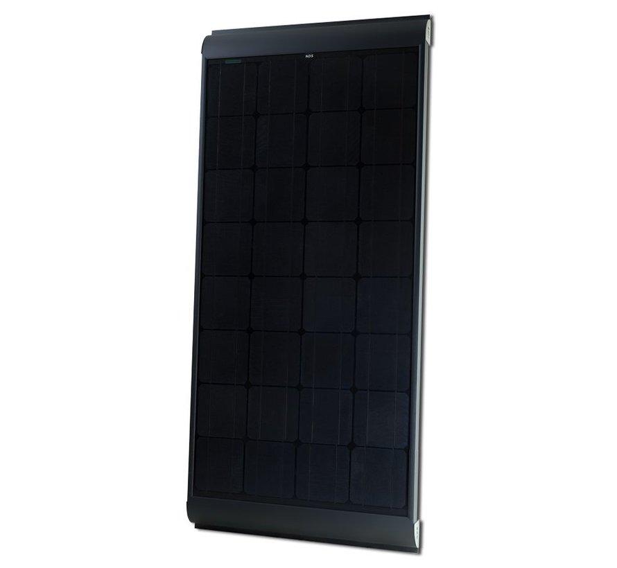 NDS Blacksolar 155W zonnepaneel SET + SC300M KPB155WP