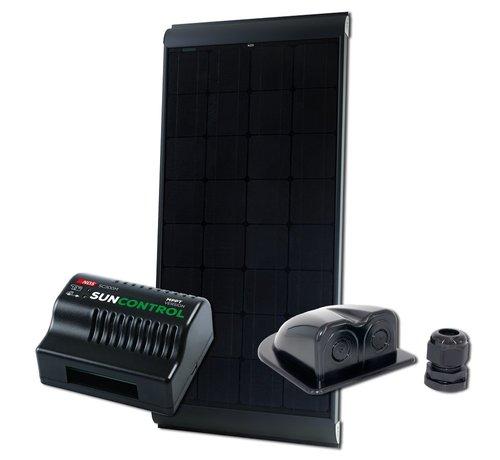 NDS NDS Blacksolar 155W zonnepaneel SET + SC300M KPB155WP