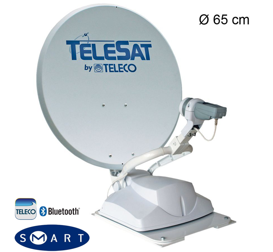 Teleco Telesat BT 65 SMART DiSEqC single, P 16 SAT, Bluetooth