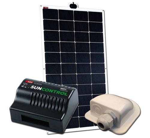 NDS NDS Solarflex EVO 150W Flex Zonnepaneel Set +SC300M KPE150WP