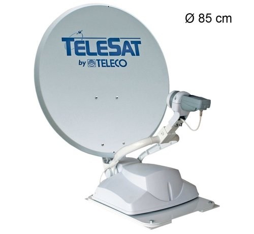 Teleco Teleco Telesat BT 85 TWIN, P 16 SAT, Bluetooth