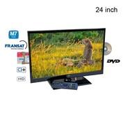 "Teleco Teleco TEV24D 24"" 12V FHD LED/TV DVB-S2/T2 DVD HEVC"