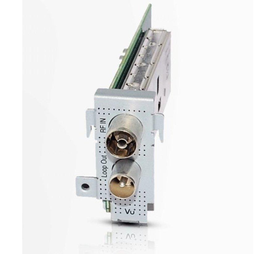 VU+ DVB-C/T2  single tuner