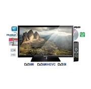 """Teleco Teleco TEK 22D TV22"""" DVB-S2/T2 met DVD,9-32V, HEVC"""