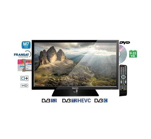 "Teleco Teleco TEK 22D TV22"",DVB-S2/T2,DVD,9-32V,HEVC,M7 Fastcan"