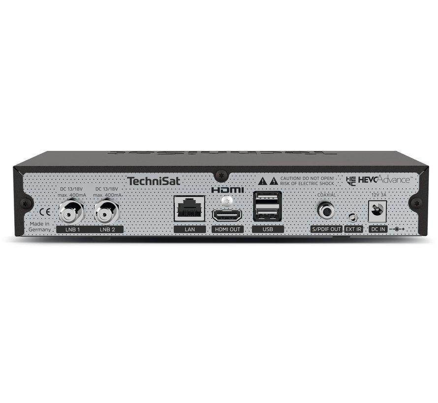 Technisat DigiPlus UHD S 4K UHD twin tuner USB PVR Ready