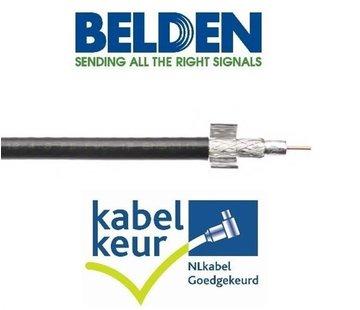 Belden Belden CX9D0  coax 9 Duobond+ PVC kleur zwart per meter