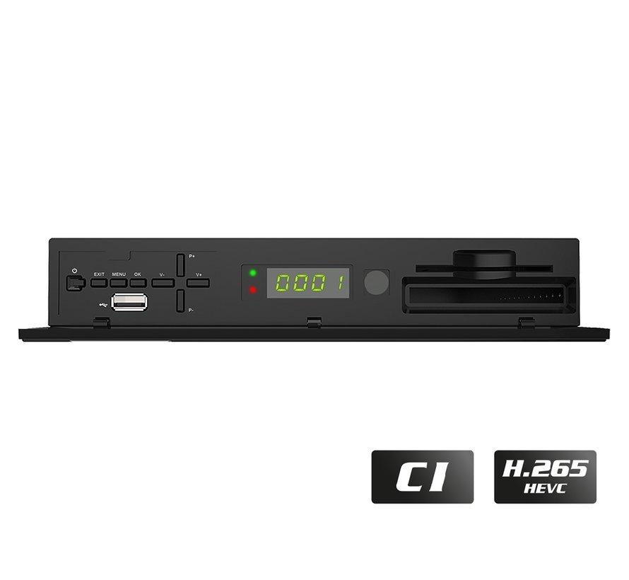 Edision Piccollo S2+T2/C met CI slot - BeNeLux versie!