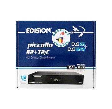 Edision Edision Piccollo S2+T2/C met CI slot - BeNeLux versie!