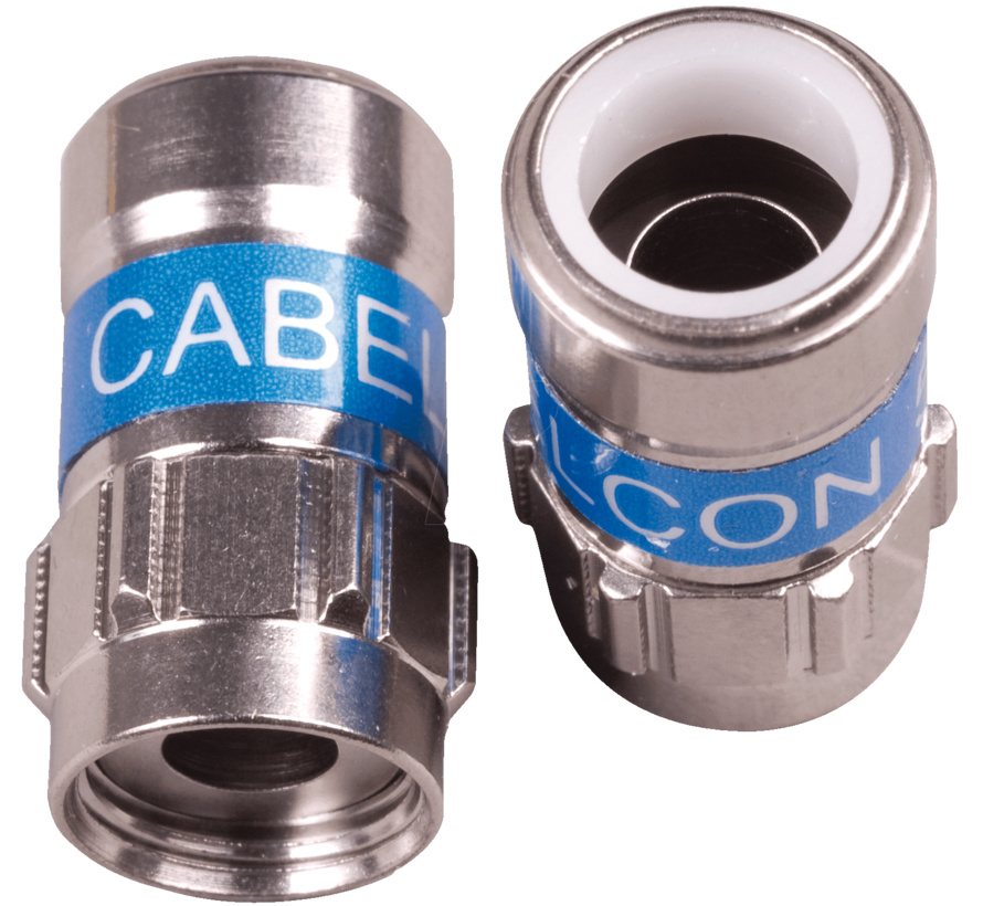 Cabelcon F-56 5.1 Self Install F-connector voor H125