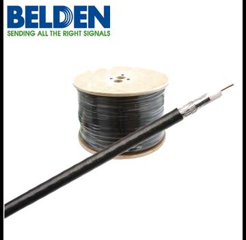 Belden Belden Coaxkabel H125 PVC kleur zwart