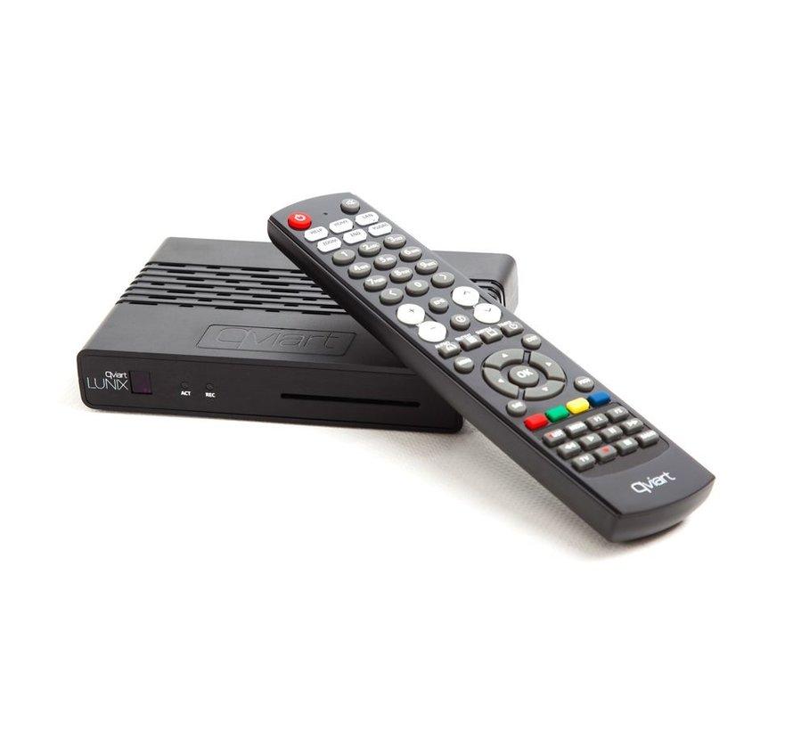 Qviart Lunix DVB-S2 HEVC H.265 SC USB PVR