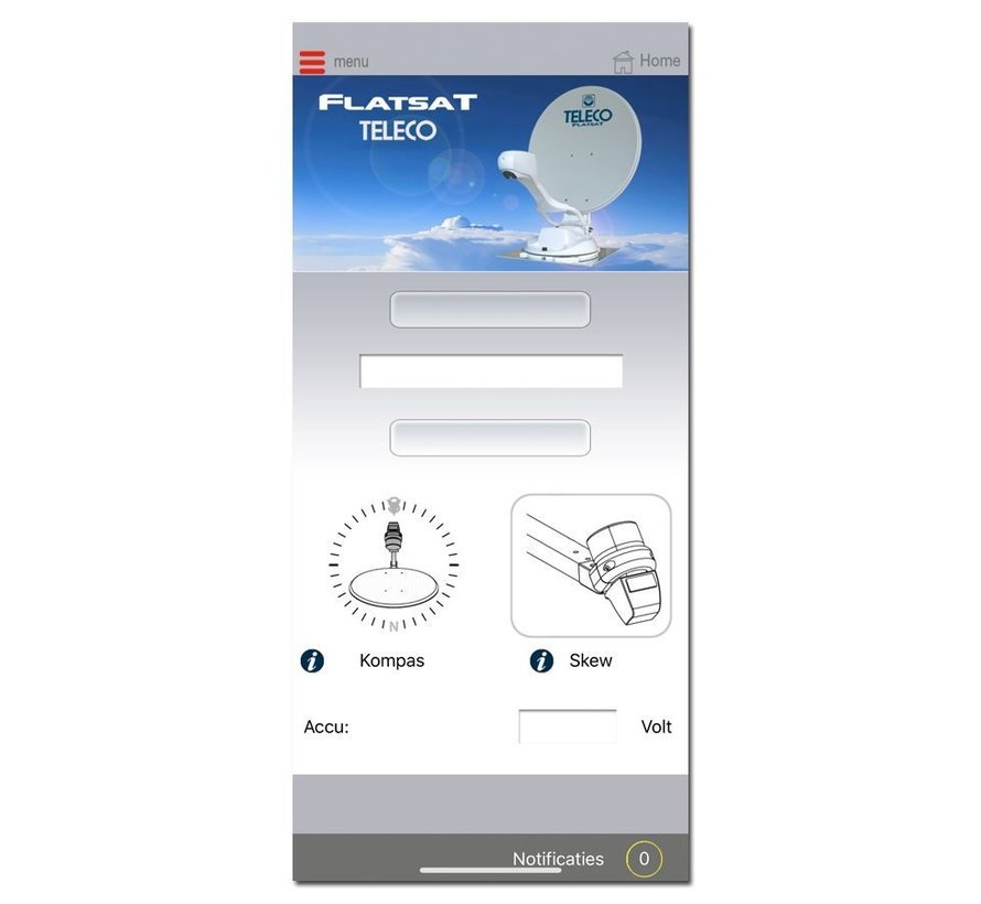 Teleco Flatsat Easy Bluetooth SMART DiSEqC - alle modellen leverbaar