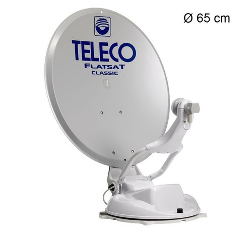 Teleco Teleco Flatsat Classic Bluetooth SMART DiSEqC - alle modellen leverbaar