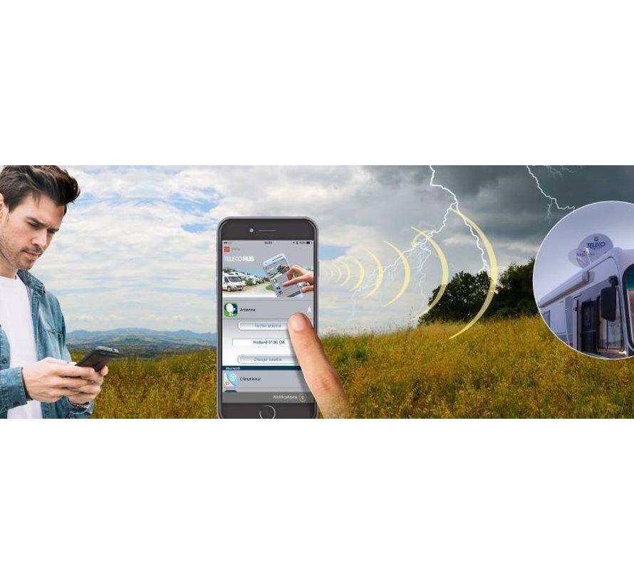 Teleco Flatsat Classic Bluetooth SMART DiSEqC - alle modellen leverbaar
