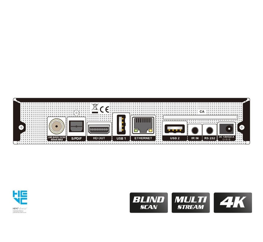 OS Mini 4K - S2X