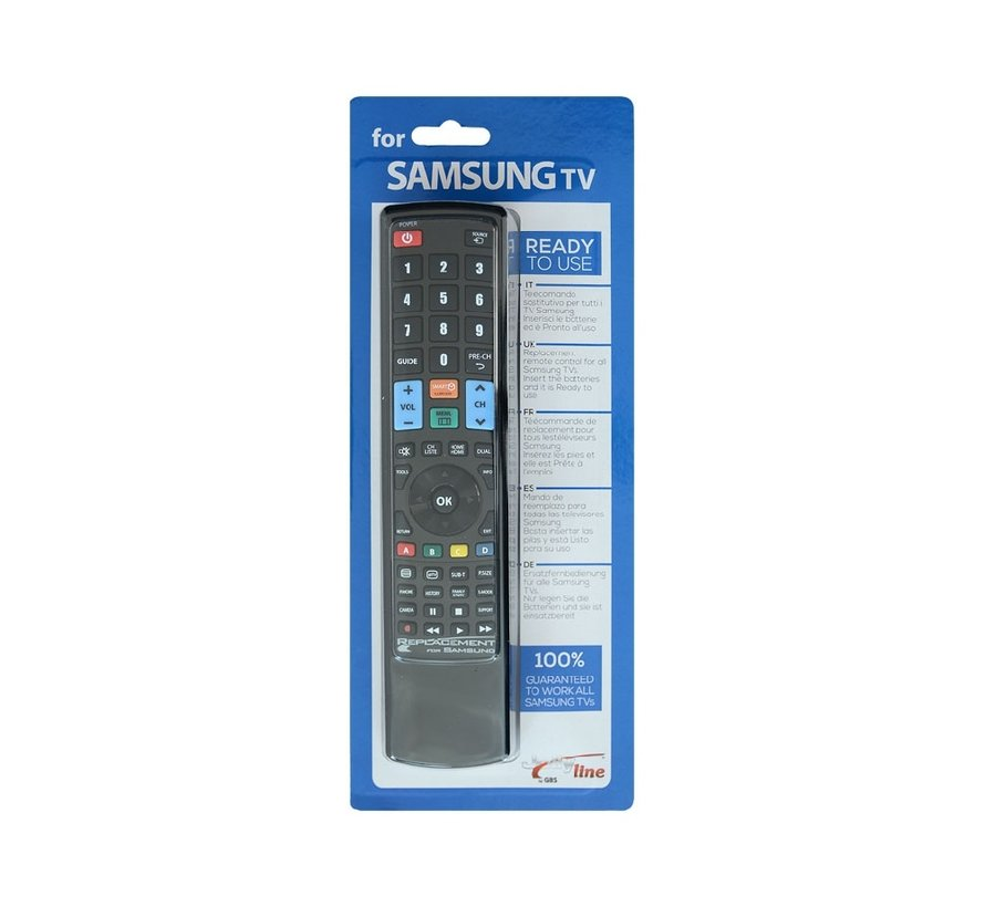 Edision vervangende afstandsbediening voor Samsung