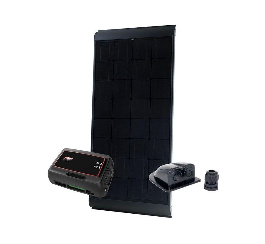 NDS BlackSolar 115W Zonnepaneel SET + SC320M