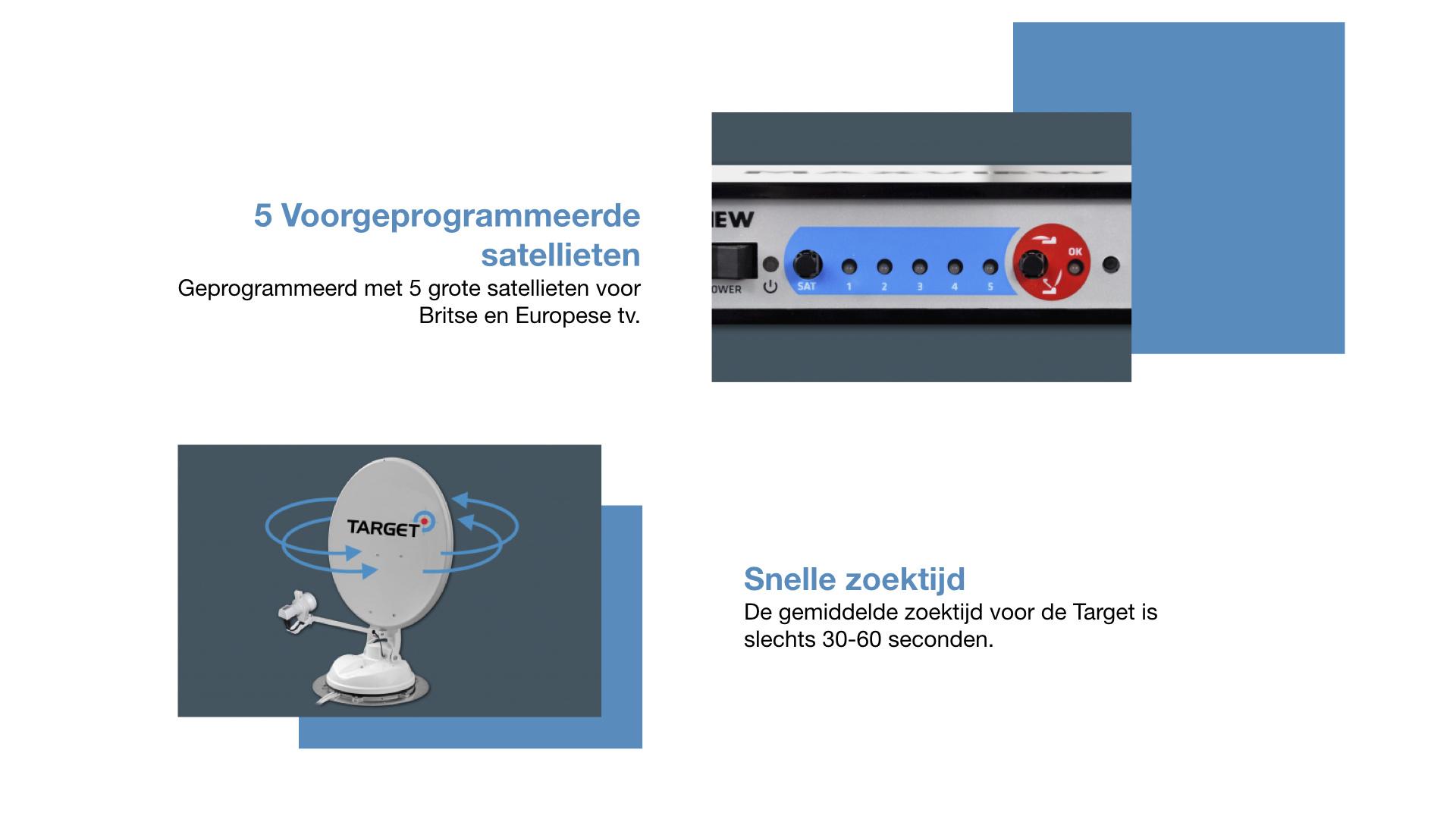 Maxview Connect automatische satellietschotel