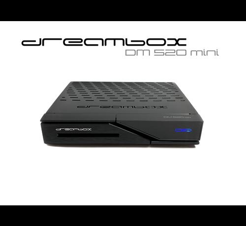 Dream Multimedia Dreambox DM520 mini HD 1x DVB-S2 Tuner PVR ready Full HD 1080p H.265 Linux Receiver