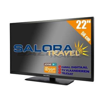 """Salora Salora 22"""" Travel TV DVB-S2/C/T2 - 12/230V"""